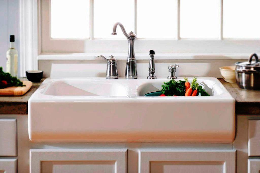 Farmhouse Sink IKEA White