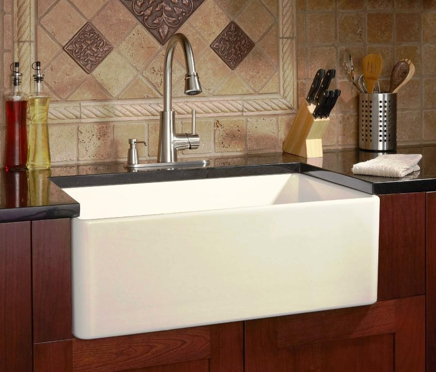Fireclay Farmhouse Sink IKEA