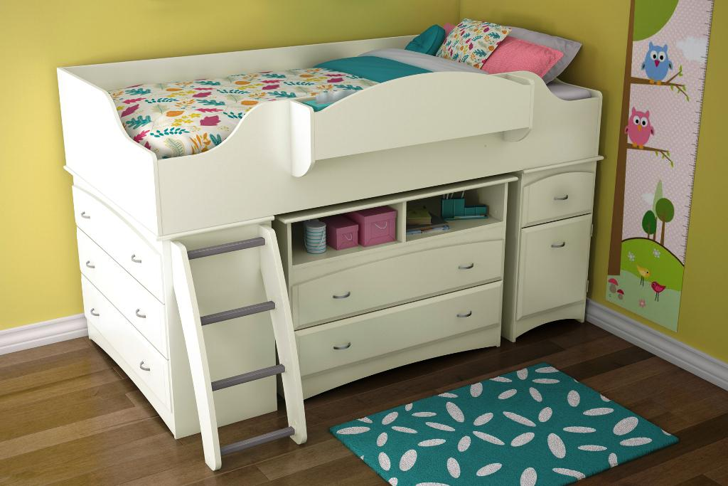 Image of: IKEA Childrens Loft Bed