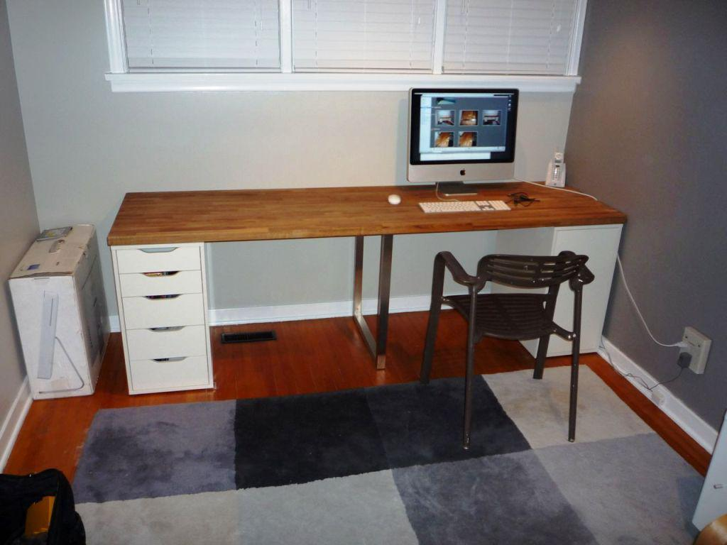 IKEA Countertop Desk