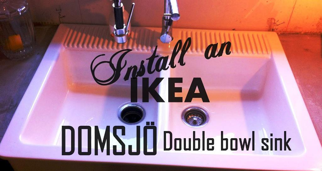 IKEA Domsjo Farmhouse Sink