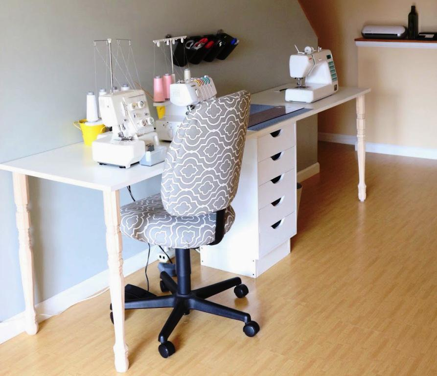 IKEA Hackers Sewing Table