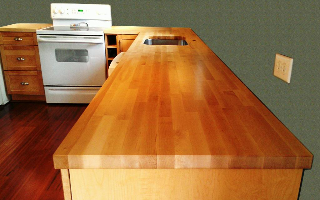 IKEA Oak Countertop