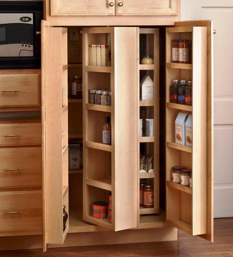 IKEA Pantry Doors
