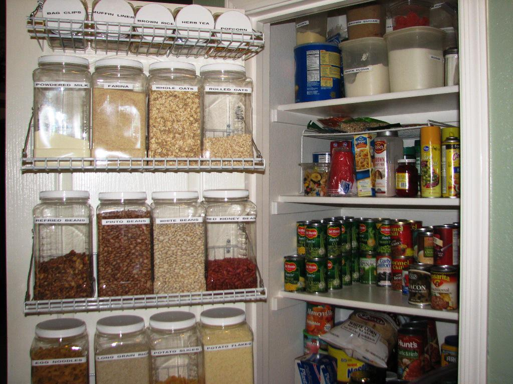 IKEA Pantry Organization