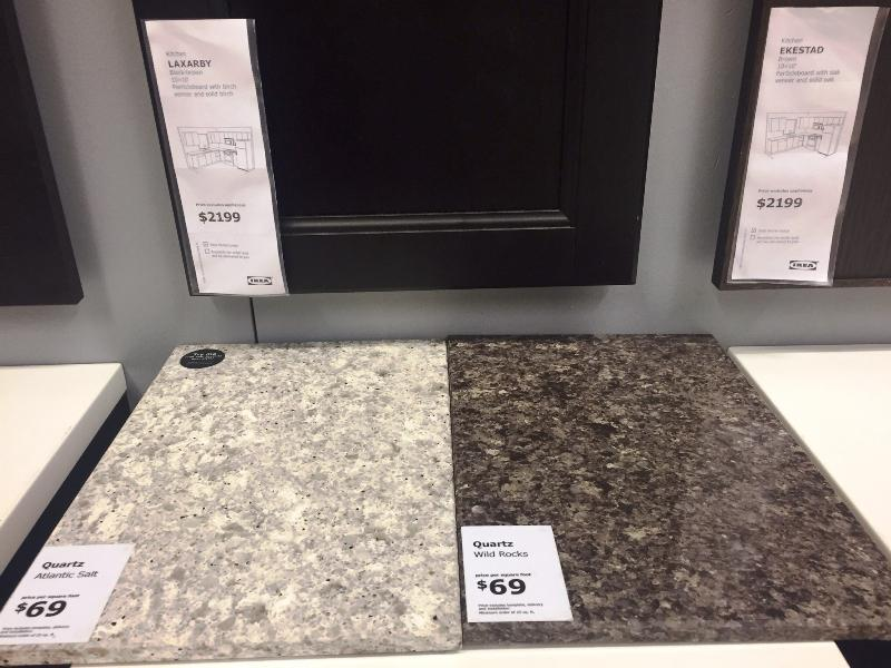 IKEA Quartz Countertops Atlantic Salt