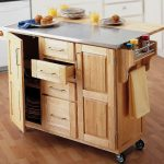 IKEA Stainless Steel Kitchen Cart