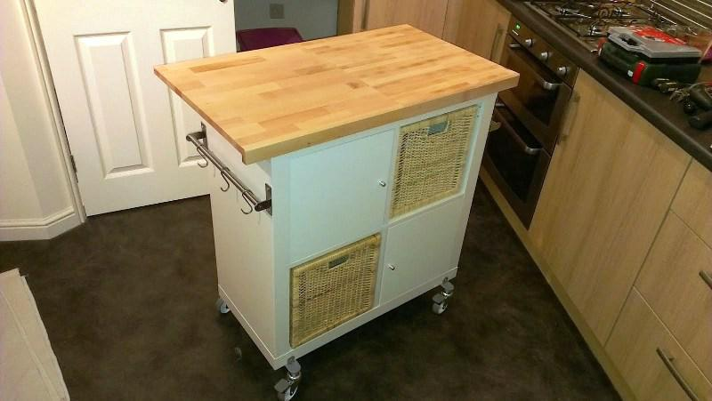 IKEA Stenstorp Kitchen Island For Sale
