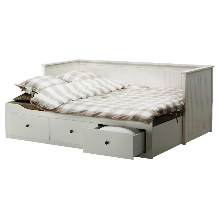 IKEA White Twin Bed