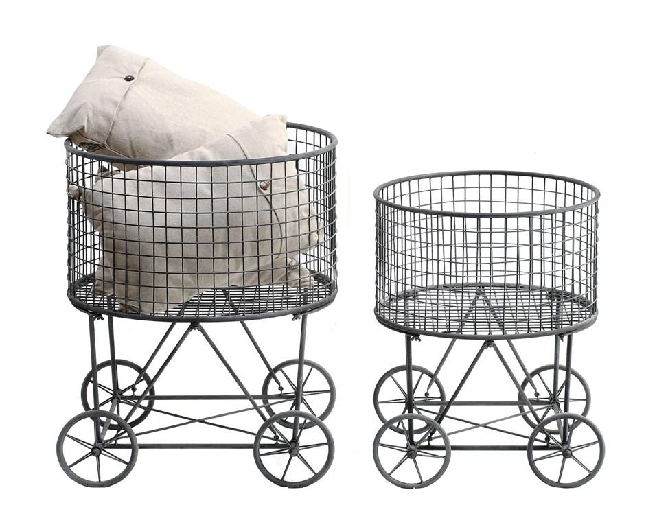 Laundry Basket On Wheels IKEA