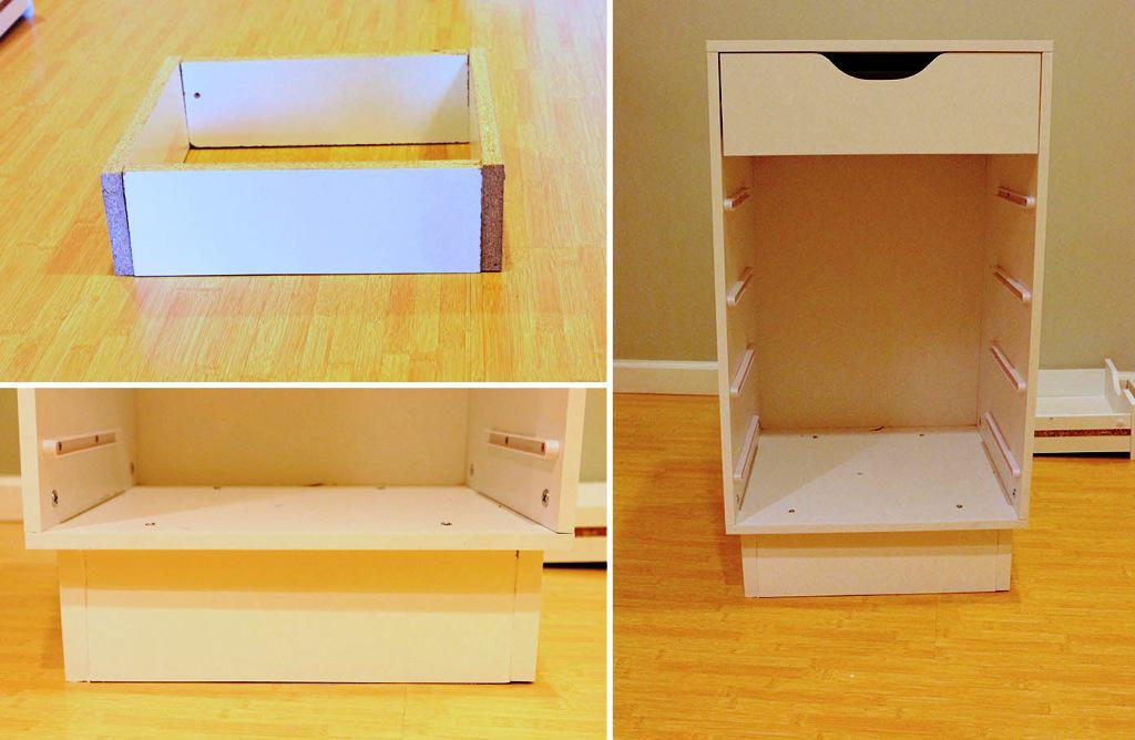Sewing Table IKEA DIY Plans