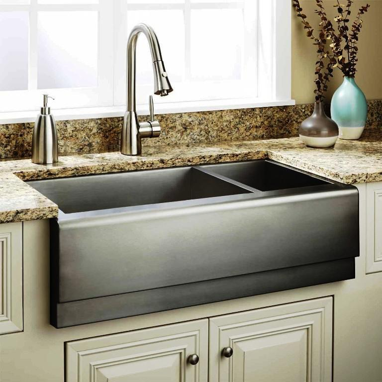 Stainless Steel Farmhouse Sink IKEA