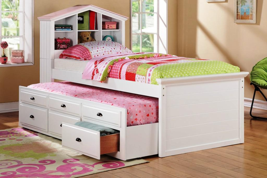 Image of: Trundle Bed IKEA Children