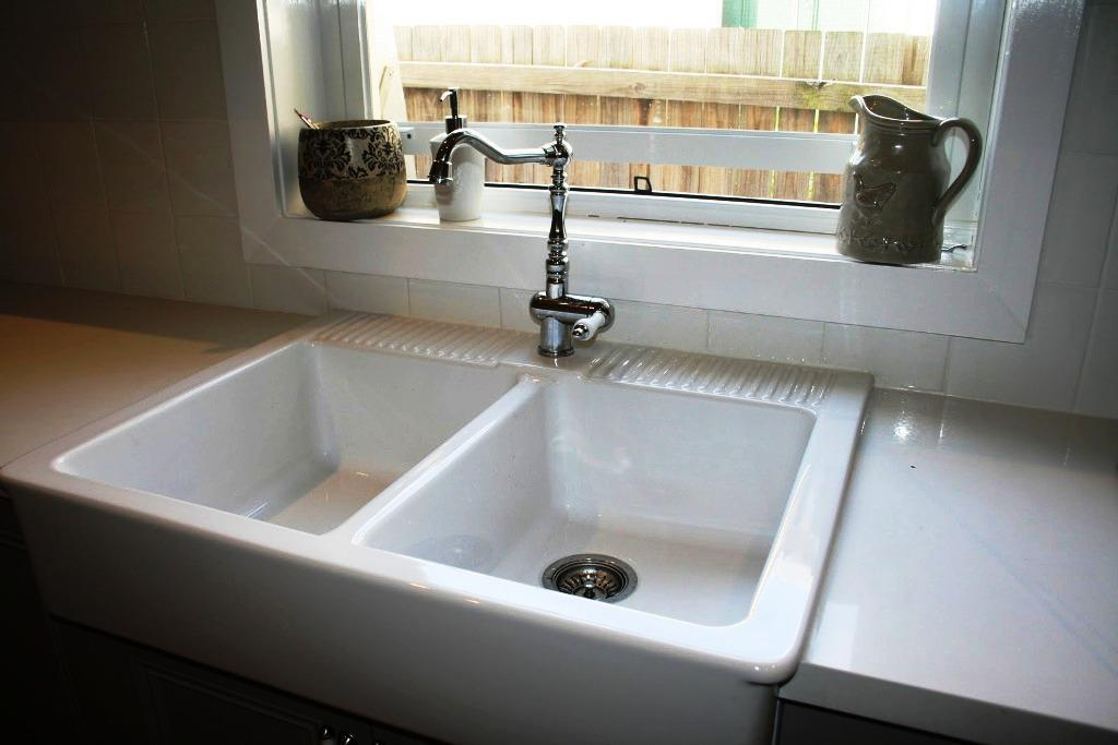 White Farmhouse Sink IKEA