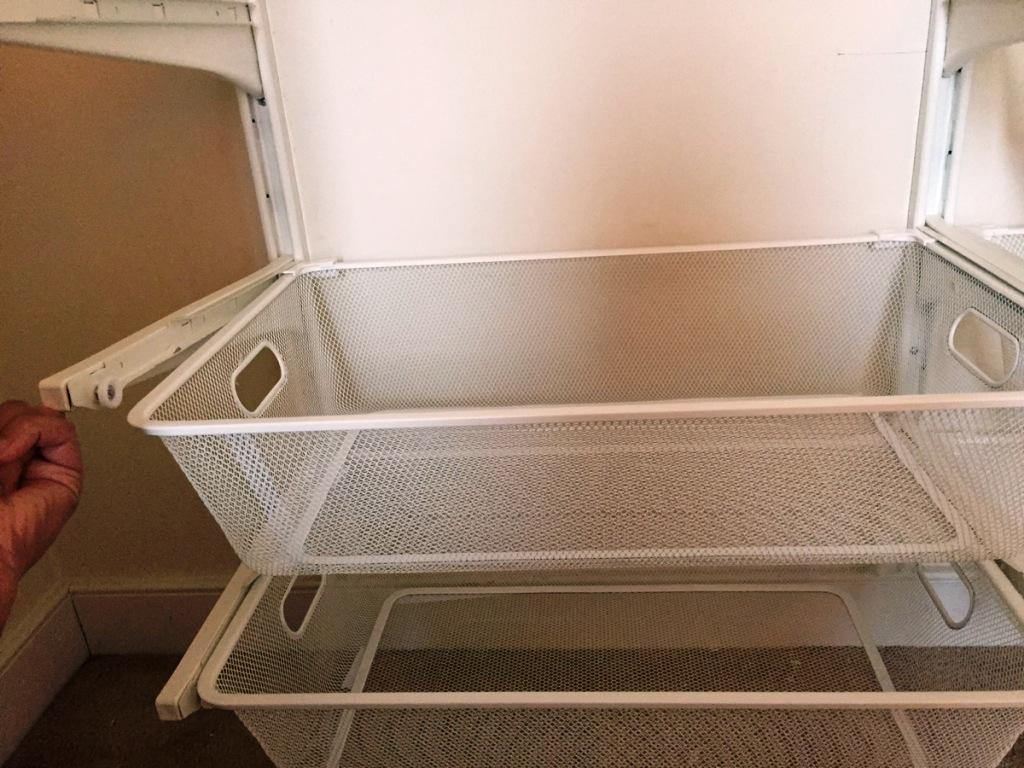 Image of: Wire Mesh Baskets IKEA